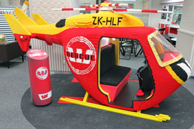Model helicopter Westpac