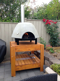 The complete pizza oven