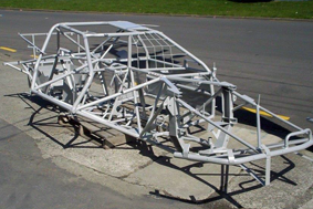 Speedway-car-chassis